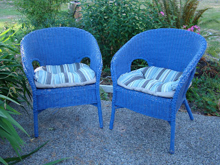 Wicker Chair Makeover
