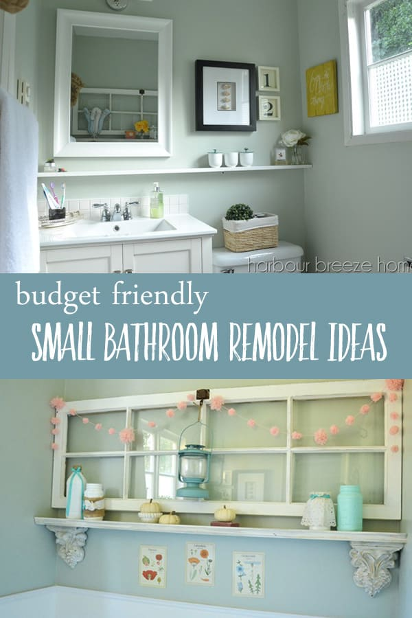 Farmhouse Style Budget Bathroom Remodel