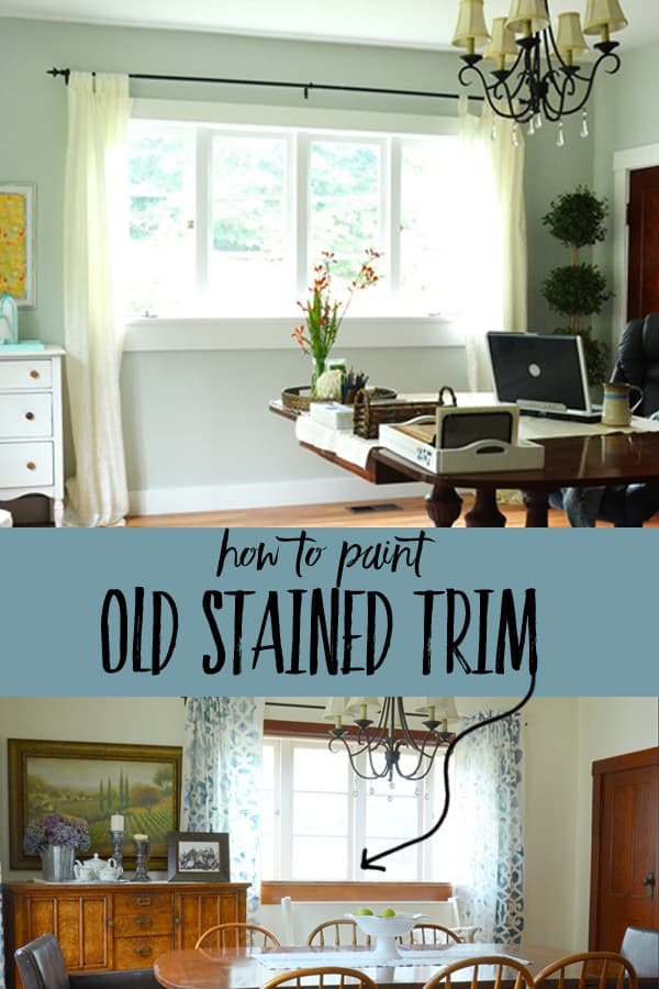 how to clean old paint from wood trim