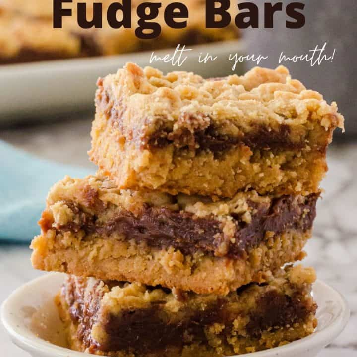 Peanut Butter Fudge Bars Recipe