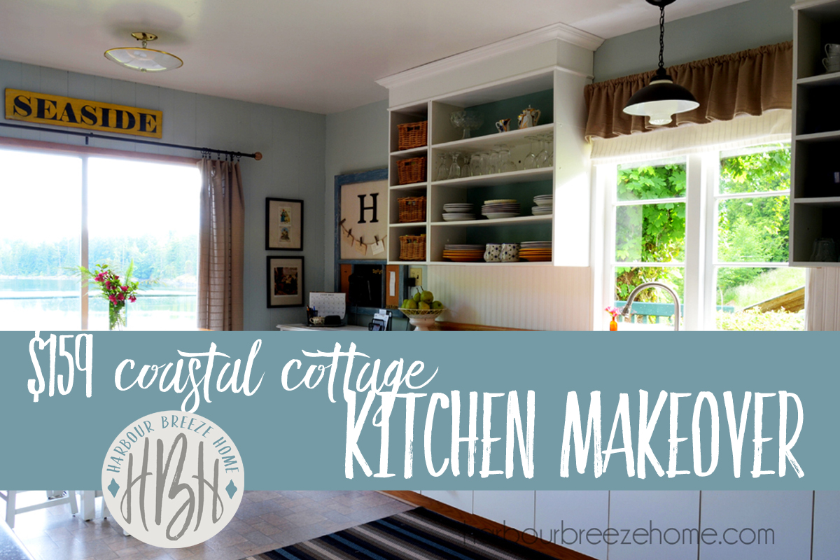 The $159 Kitchen Makeover…REVEALED! | Harbour Breeze Home