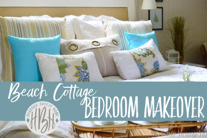 beach cottage bedroom facebook image