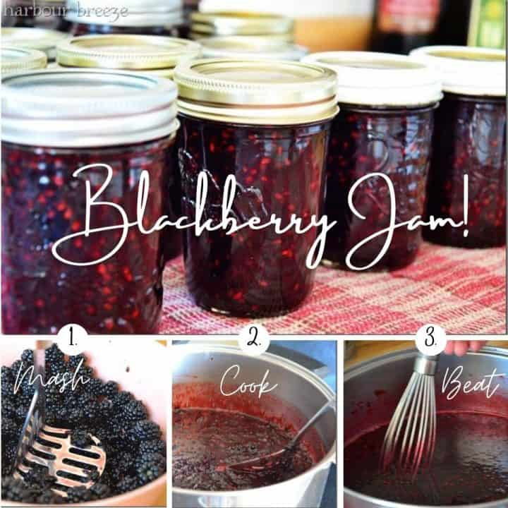 How to Make Old-Fashioned Blackberry Jam