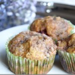 "Kitchen ""Crafts"" ~ Pumpkin Blackberry Streusel Muffins {Day 24}"