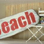 Beach Decor Display