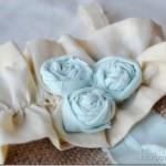 Tattered Fabric Flower Tutorial~ {Day 18}