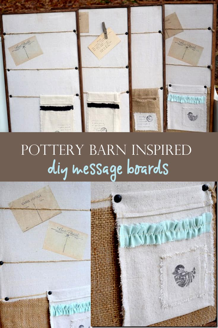 collage of wooden framed message boards