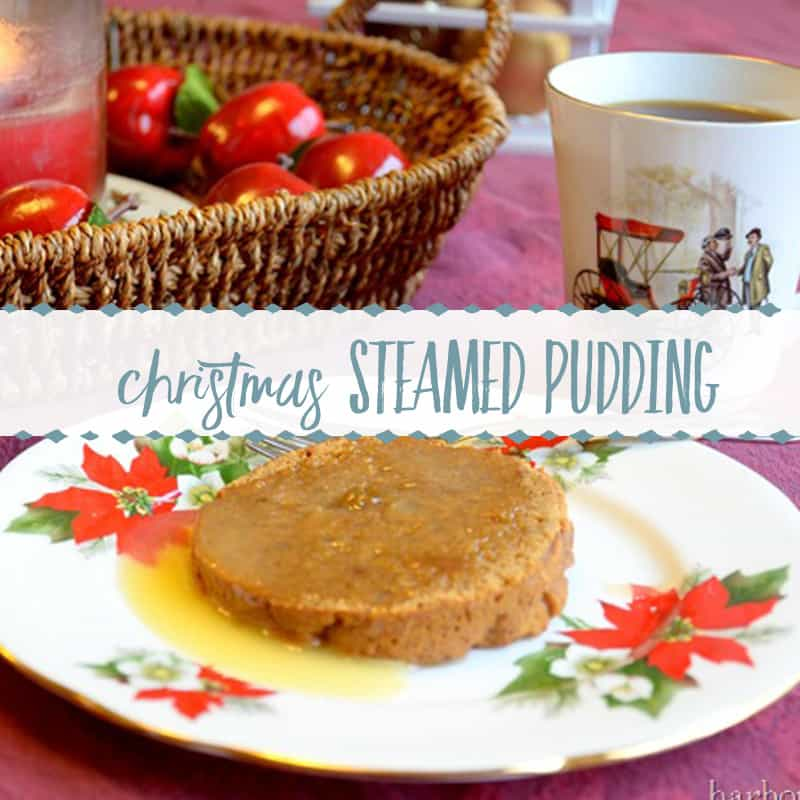 Old-Fashioned Steamed Pudding