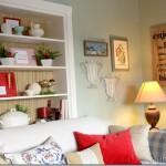 Christmas Around the House {The Living Room}