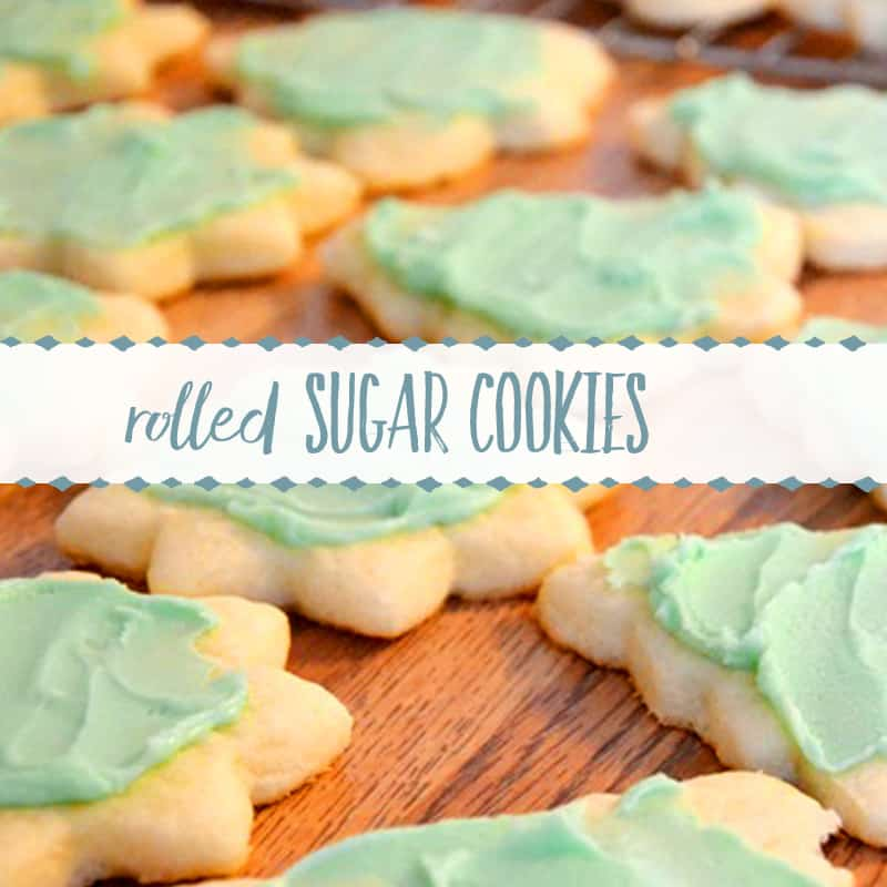 Old Fashioned Rolled Sugar Cookie Recipe