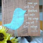 The Blue Bird Sign {For Sale}