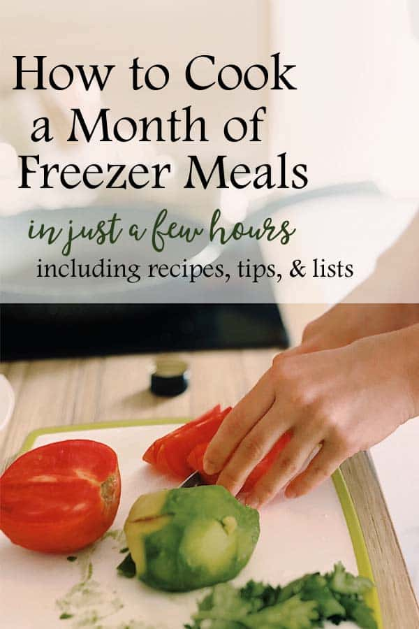 Freezer Meals for a Month| Learn the simple steps to meal planning and freezer meals for a month. #freezermeals #recipes #mealplanning #mealplan #freezercooking