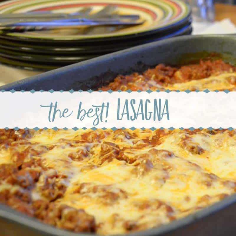 The Best Freeze Ahead Lasagna Recipe
