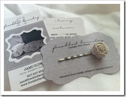 freckled laundry business tags