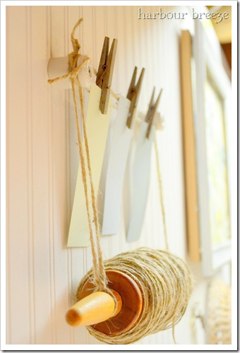 jute rolling pin holder side
