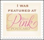 pink postcard