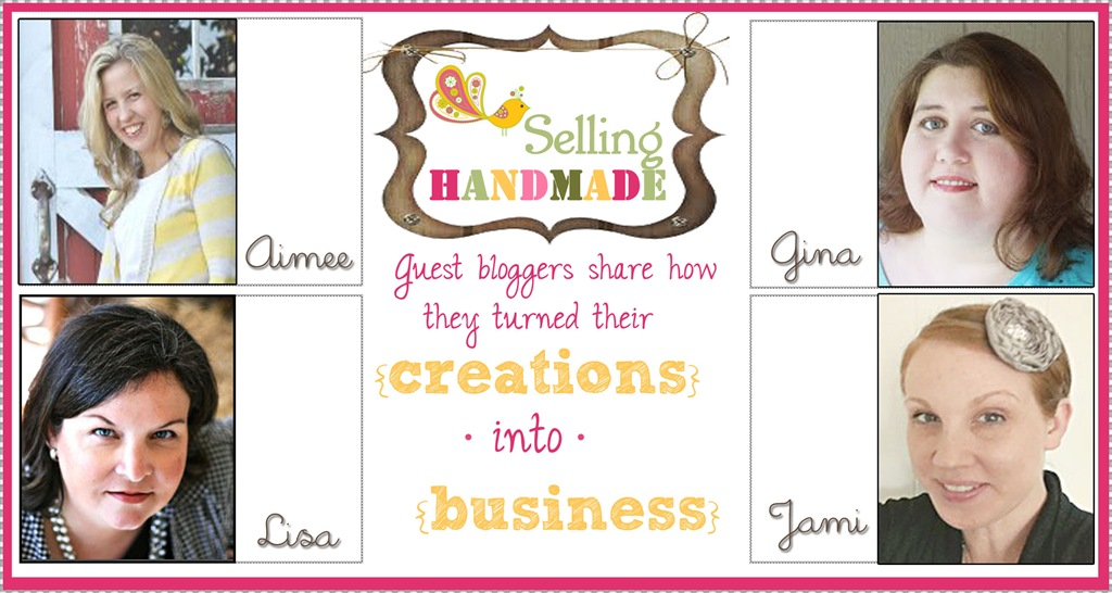 Selling Handmade ~ Organizing a Workspace