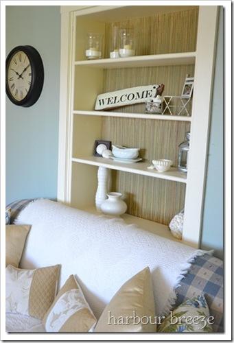 beach mat bookcase
