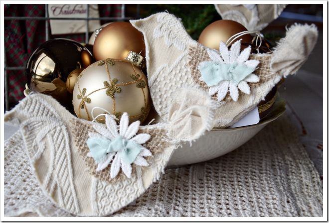 ornaments in a bowl ps