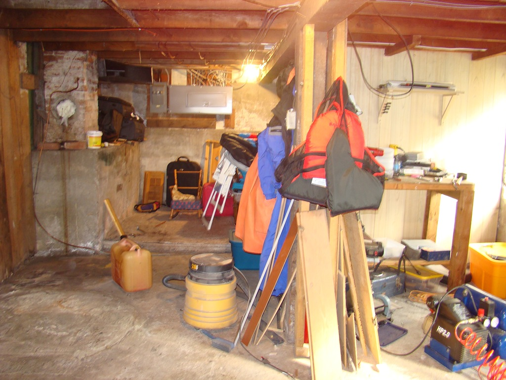 The {Real} Basement Before Pictures