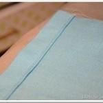Simple Linen Pillow Tutorial