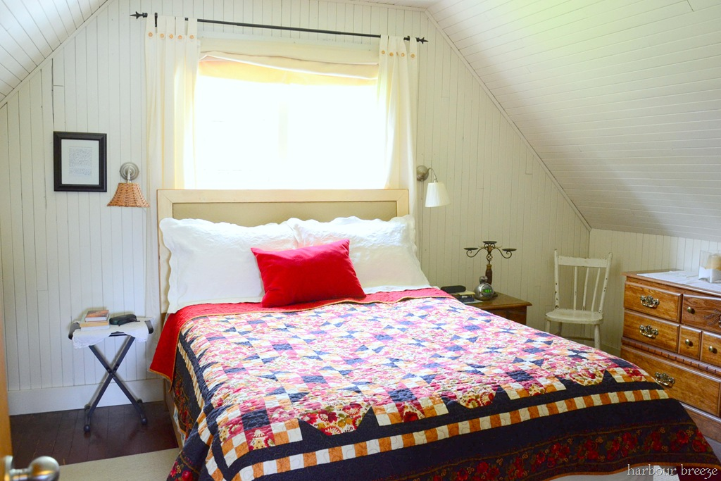 so let me introduce our new beach cottage bedroom