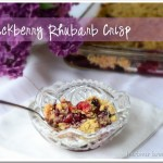Blackberry Rhubarb Crisp
