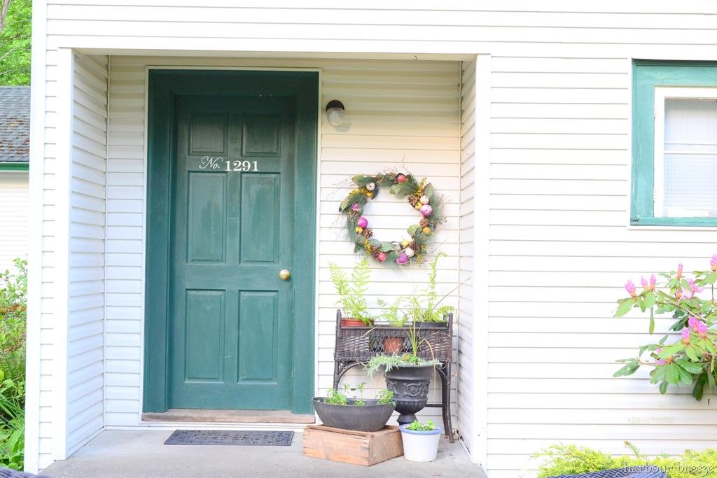 Elegant Front Door After Straight On