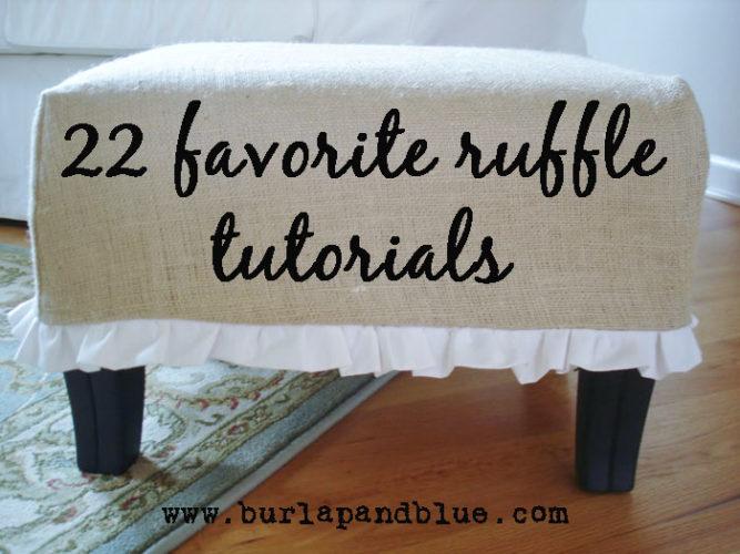 ruffle tutorials