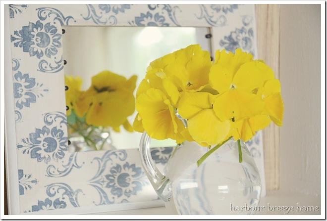 yellow pansies ps