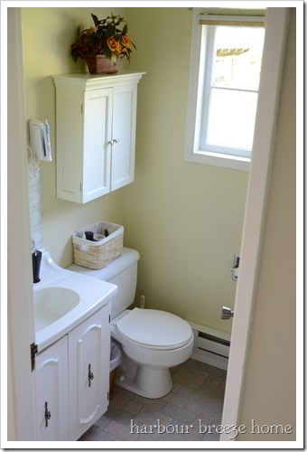 main bathroom from above