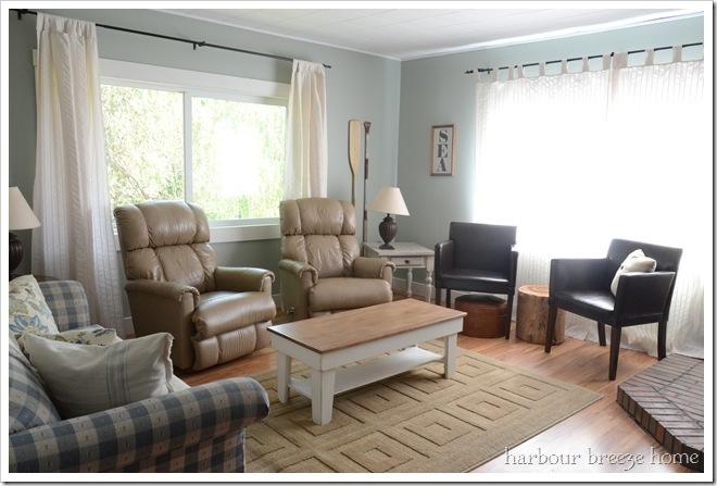 clean slate living room