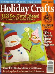 holiday crafts magazine