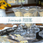 Homemade Pudding {in the microwave}