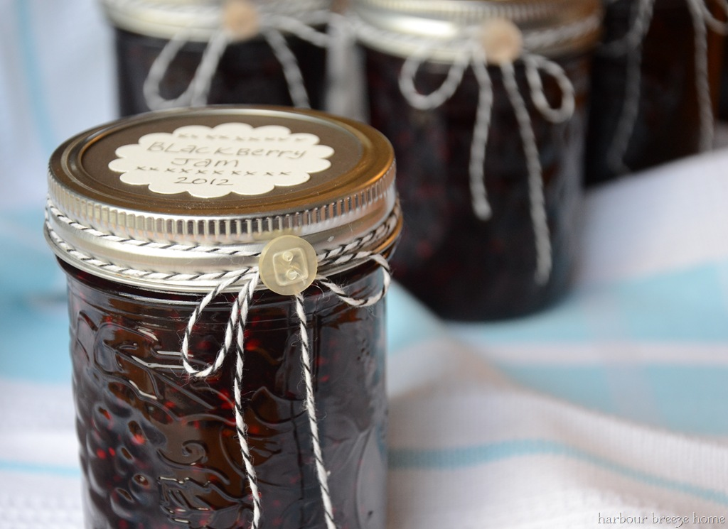 Decorating Jam Jar As Gifts on Pinterest Kitchen Christmas Decorating Ideas
