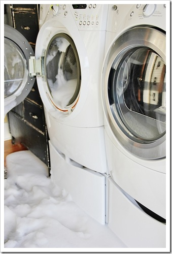 Washer-with-Soap-Bubbles