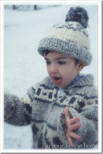 catching snow 3