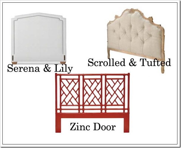 Designer Challenge - Which Headboard?