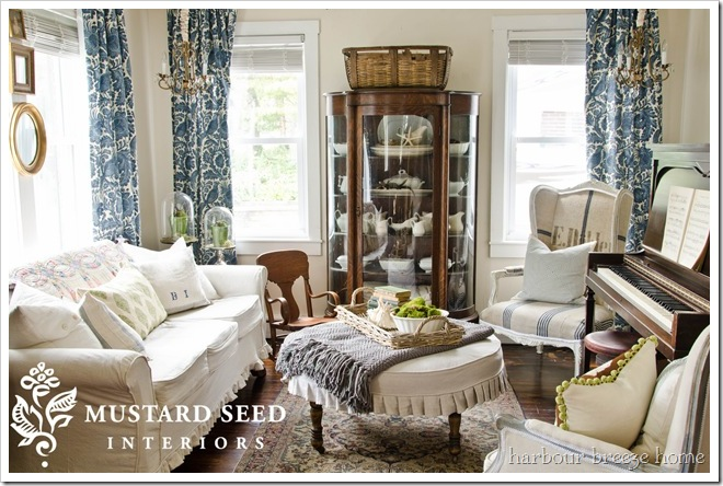 miss mustard seed's living room