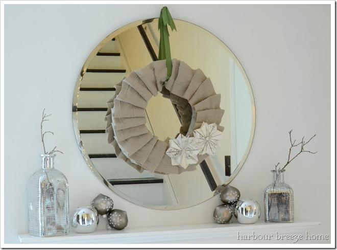 wreath arrangement