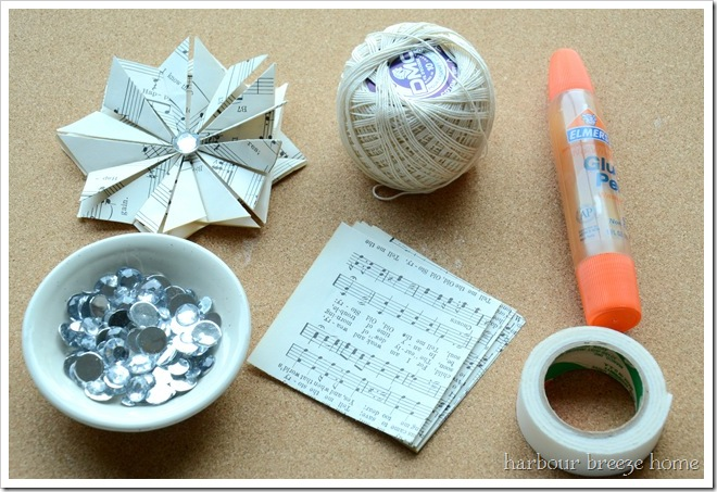 supplies for ornament