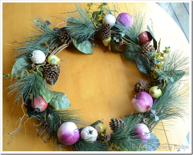 wreath before