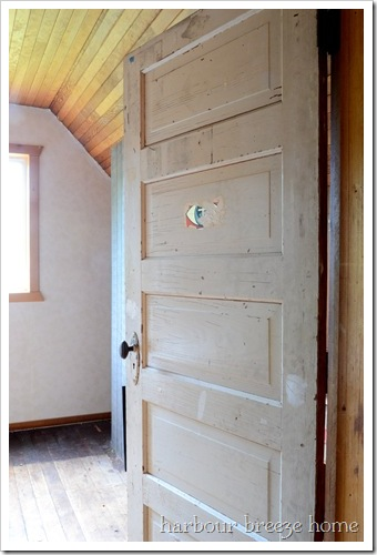 attic room door