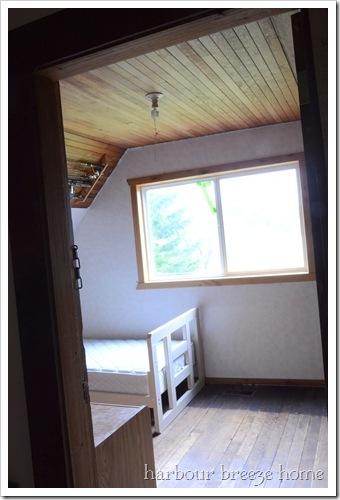 attic room doorway before