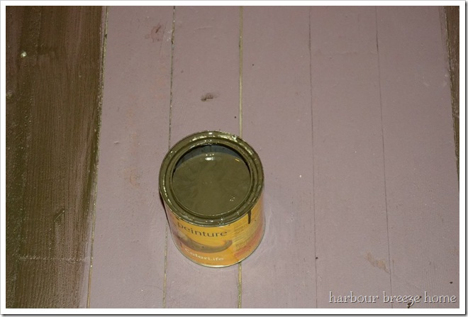 color washed paint