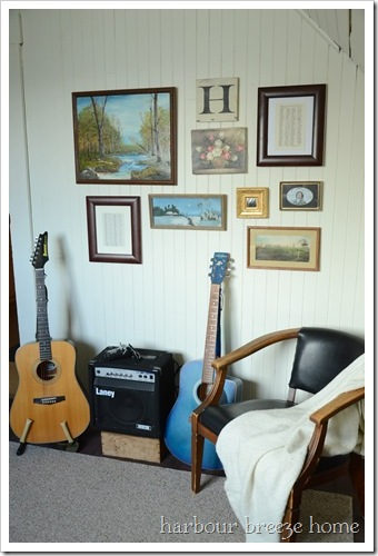 half guitar wall