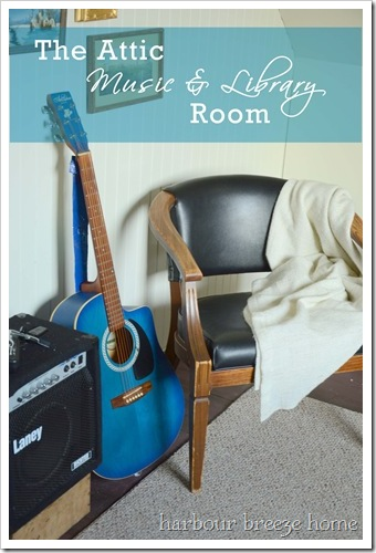 music and library room