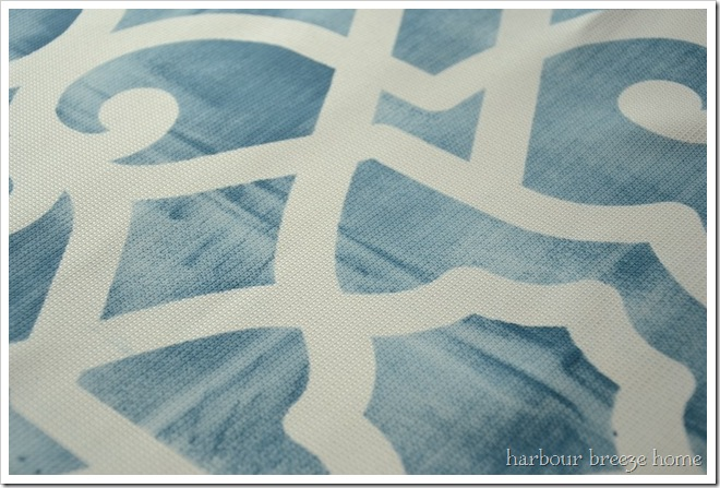 how to stencil curtains at harbourbreezehome.com