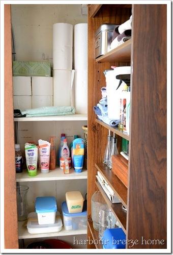 closet inside after