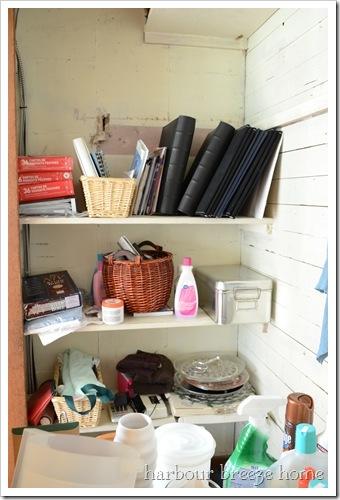 closet inside before